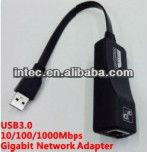 USB 3.0 10/100/1000Mbps Gigabit Network Lan Adapter