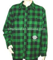 Men's merino wool winter woolen coat