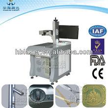 Low price Fiber plastic 10w IC/ integrated circuits laser engraving machine
