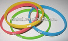 cheap sell eco-friendly custom thin silicone Bracelets
