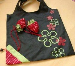 Strawberry Shopping Bag Foldable Reusable