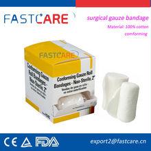 CE medical gauze bandages surgical dressing