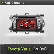Stylish Toyota Yaris Car Radio TV DVD GPS Navigation