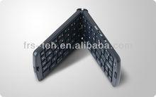 Newest 68 silicone keys foldable bluetooth keyboard