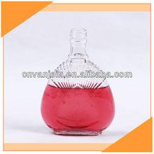250ml Clear Empty Tequila Glass Bottle