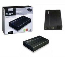 "High Quality Intenso Memory Tower USB 2.0 Hard Drive Enclosure SATA 3.5"" HDD's"