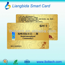 plastic pcv business name card & plastic phone number for alibaba