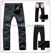 oem custom brand and logo 2013 winter men fashion jeans