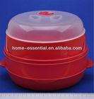 Handy Gourmet 2 Tier Microwave Food Steamer