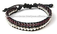 Leather Bracelets Hand Weaving