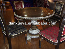 Factory Direct Supply Round Dinning Table, oak furniture manufacturer