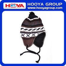 fashion design knitted beanie hat in bulk