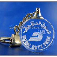 keychain with brand logo