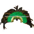 Carnaval sombrero de plumas indio y tocado