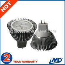 Die Casting 3W AC/DC12V MR16 led cup light