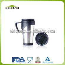 450ML inner plastic outer stainless steel travel mug BL-116C