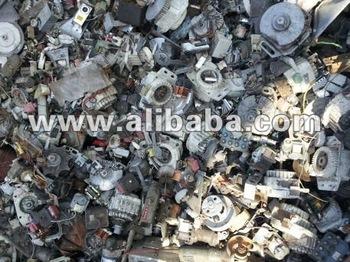 Washing machine motor scrap