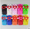 Colorful Silicone 3D slipper case for iphone 5