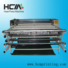 multi-purpose heat press machine for t-shirt, flags, table cloth and all roll or piece fabrics