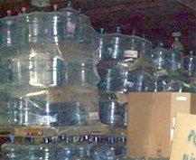 pc water bottle scrap