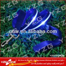 Different style LED nylon dog leash pet accessories leash