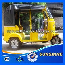 Promotional Fashion auto rickshaw e passenger tricycle