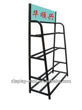 Big AD high spinning metal display rack HSX- 1378