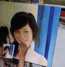 Oil painting portrait, custom portrait, personalized portrait
