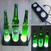 Designer customized plastic beer bottle holder