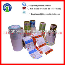 Printing High Quality Custom Adhesive Personized Logo Custom Address Label for Packing,Adhesive Labels Cheap