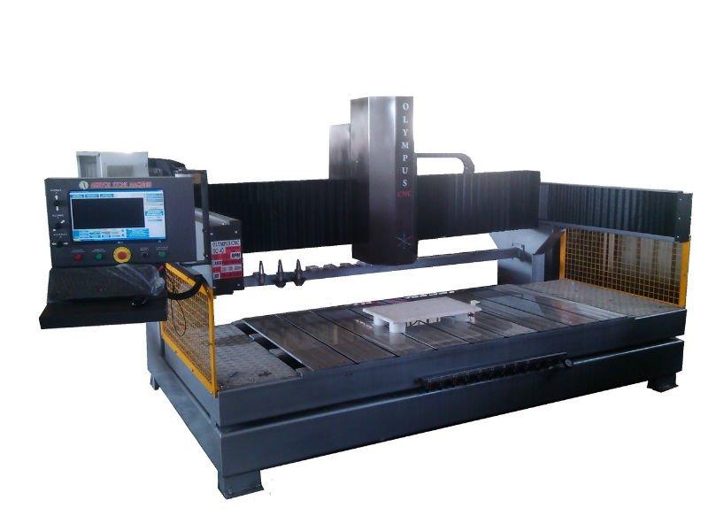 OLYMPUS 4 AXIS STONE CNC
