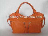 2013 the best sale handbag shiny PU young lady handbags