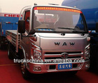 LOW PRICE WAW BRAND HOT SALE 3T 4X2 MINI CARGO TRUCK