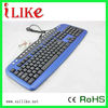 factory made crazy low price wired multimedia keyboard kb10