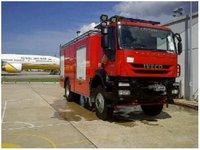 ARFF airport fire truck