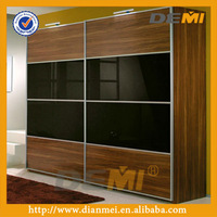 The fashion wardrobe bedroom cabinets/closets design modern wood