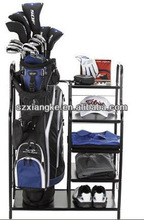 Golf Clubhouse Collection Single Metal Club and Bag Organizer