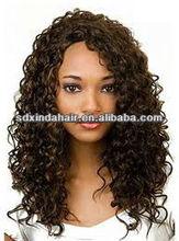 hot beauty sale brazilian remy kinky curly full lace wig
