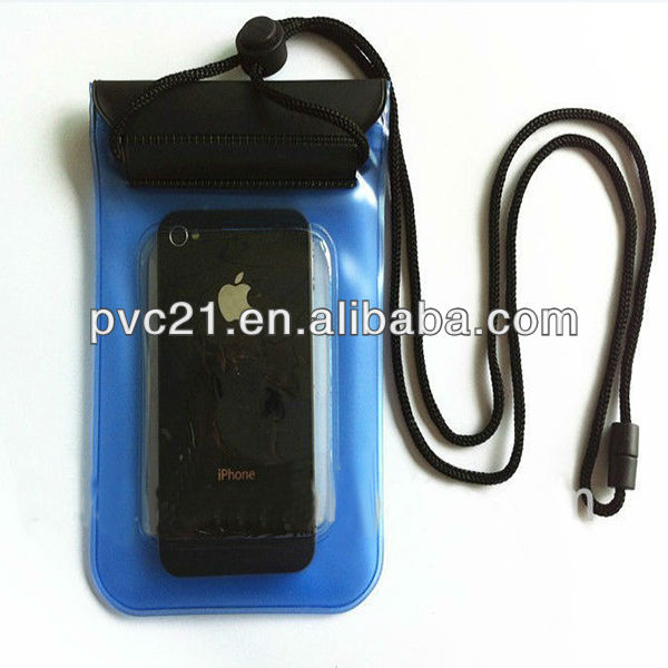 PVC waterproof mobile phone bag case for phone