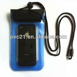 PVC waterproof mobile phone bag case for phone