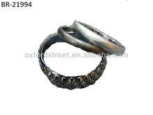 Hot Selling Women Metal Ring Bracelet Set