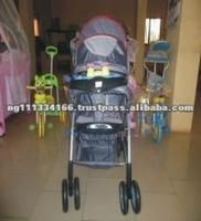 Foldable Big Wheel Baby Carriage
