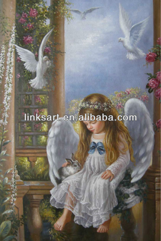 See larger imageClassic Angel Painting