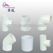 Flat pvc pipe joint