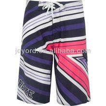 Rock solid core mens hawaiian board shorts with spandex fabric