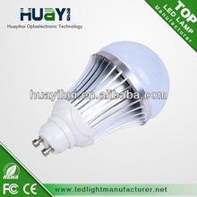 9w cob led gu10,dimmable bulb gu10 led CE ROHS FCC listed