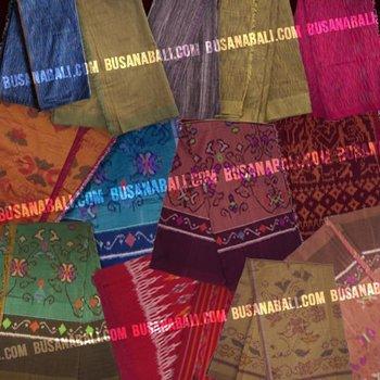 Endek weaving (kain Endek Bali)