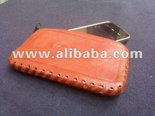 Genuine leather mobile phone cover