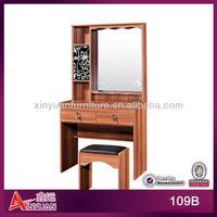 Africa pvc antique vanity dresser with mirror