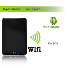 2014 new multifunctional WiFi USB 3.0 Wireless External Hard Drive Disk for iPhone5/5S/5C/SamSungs3/4/Note 2/Lumia